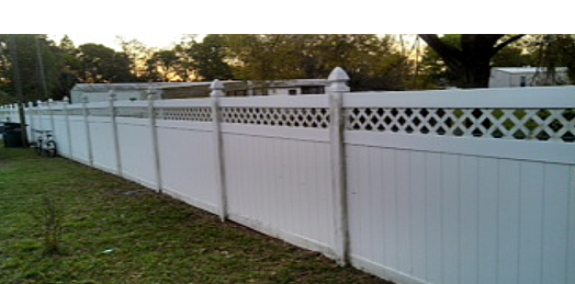 PVC and Vinyl Fencing.